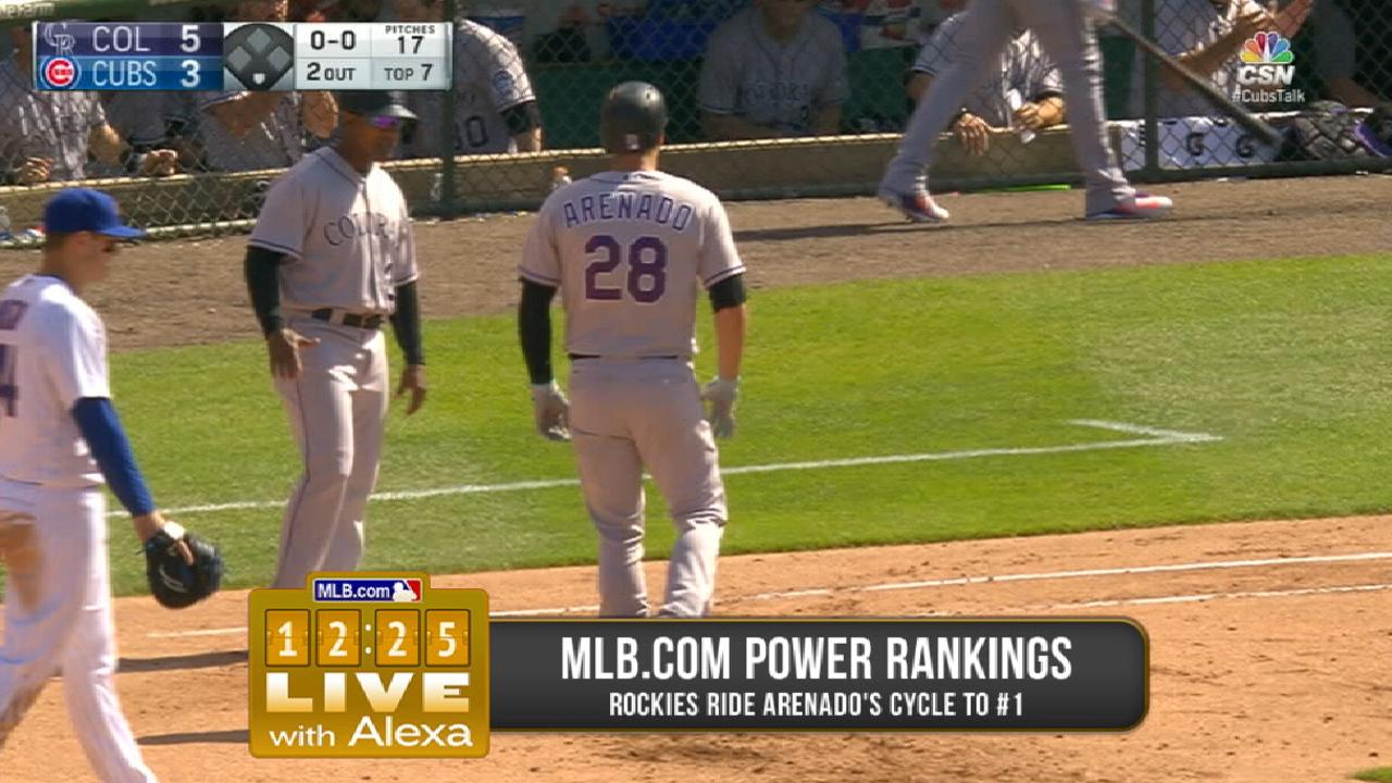 Hot stretch puts Rockies atop Power Rankings