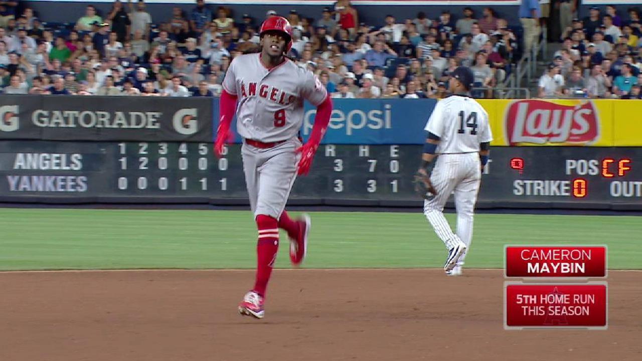 Angelinos le propinan a Yankees su séptima derrota al hilo