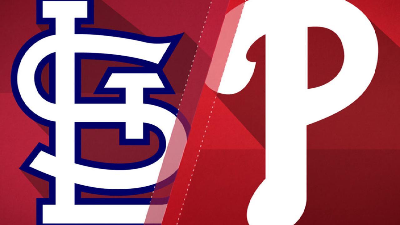 6/20/17: Siete carreras de Cardenales en el 11vo inning rinden a Filis