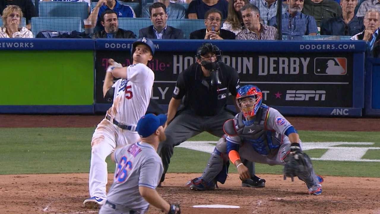 Seager y Bellinger hicieron historia en paliza sobre Mets