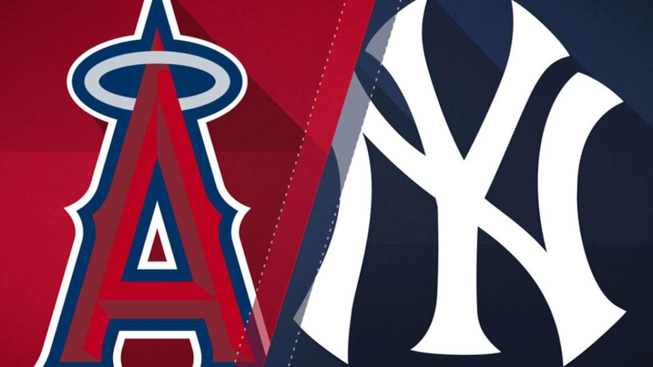 6/20/17: Angelinos se imponen en el Bronx y aseguran 1er juego ante N.Y.