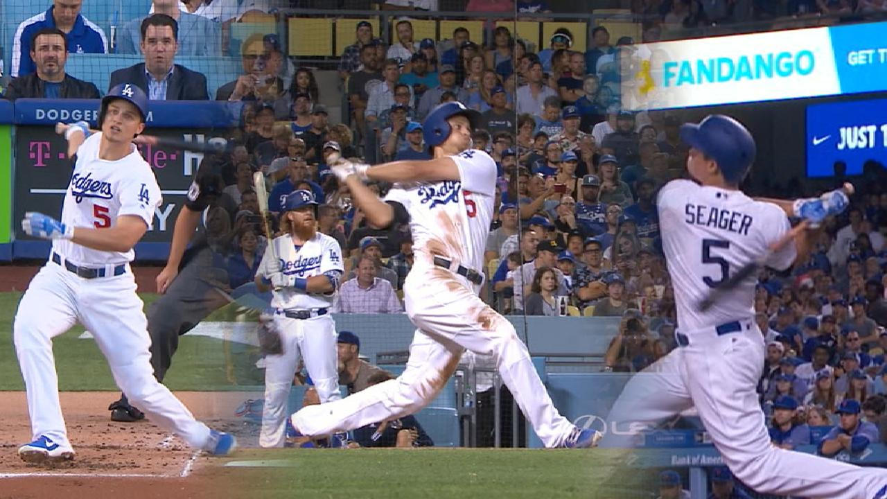 Must C: Seager's three-HR game