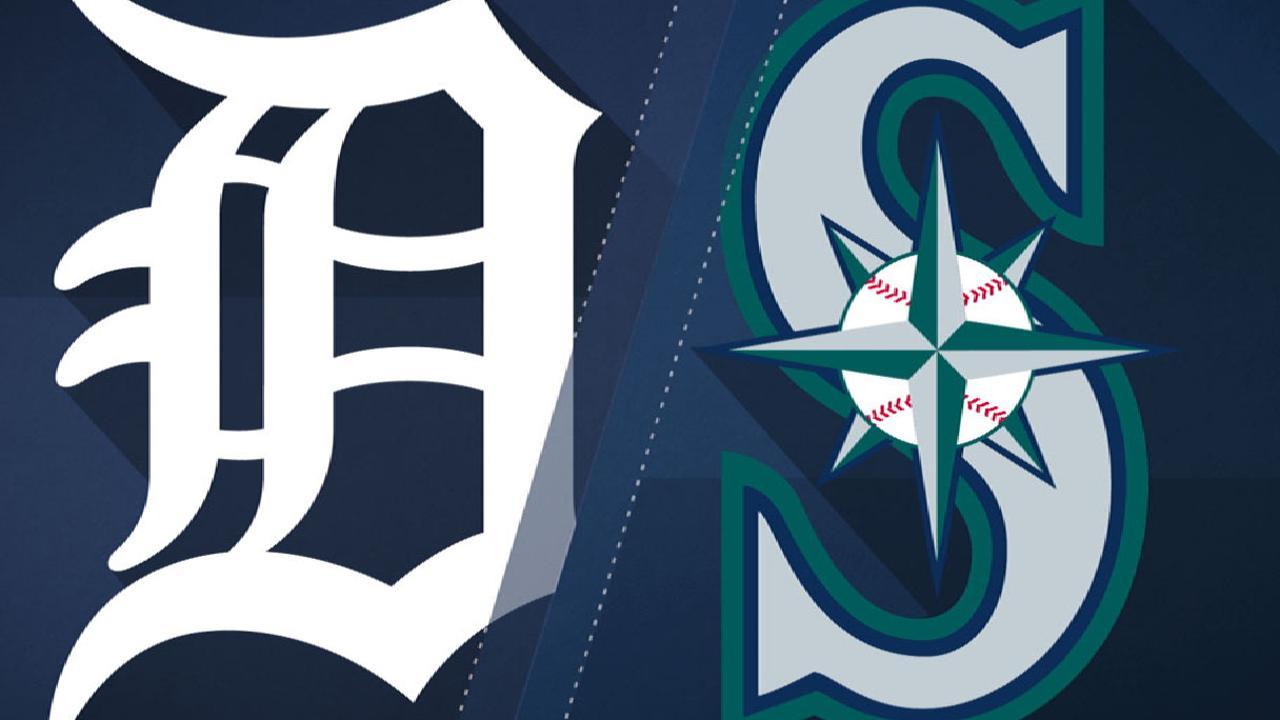 6/20/17: Seager resuelve el juego en el 10mo inning a favor de Detroit