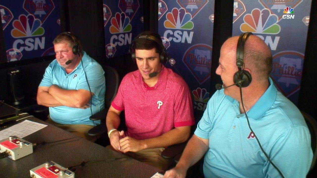 Haseley joins the booth