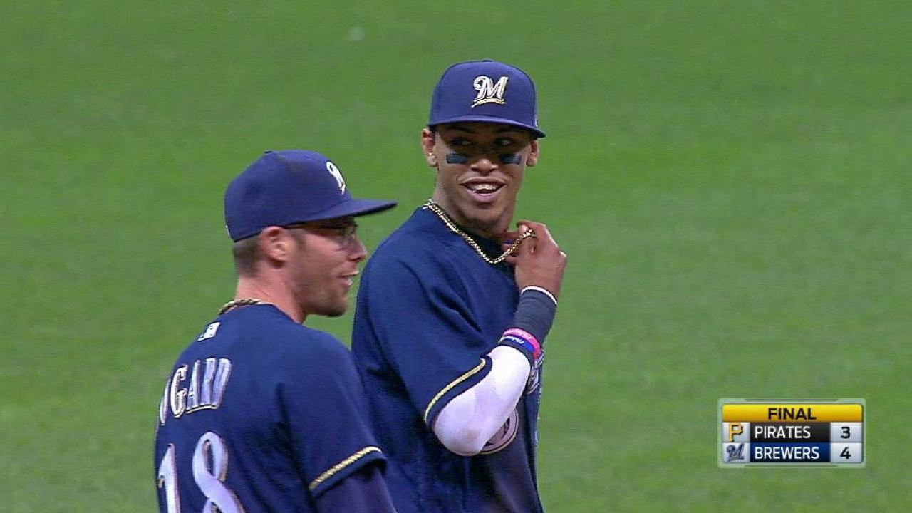 Arcia's terrific play ends game