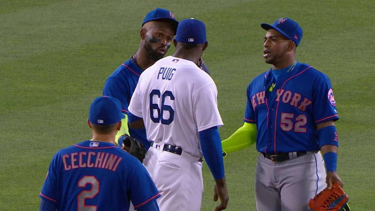 A Céspedes y Mets no les gustó como Puig disfrutó su jonrón