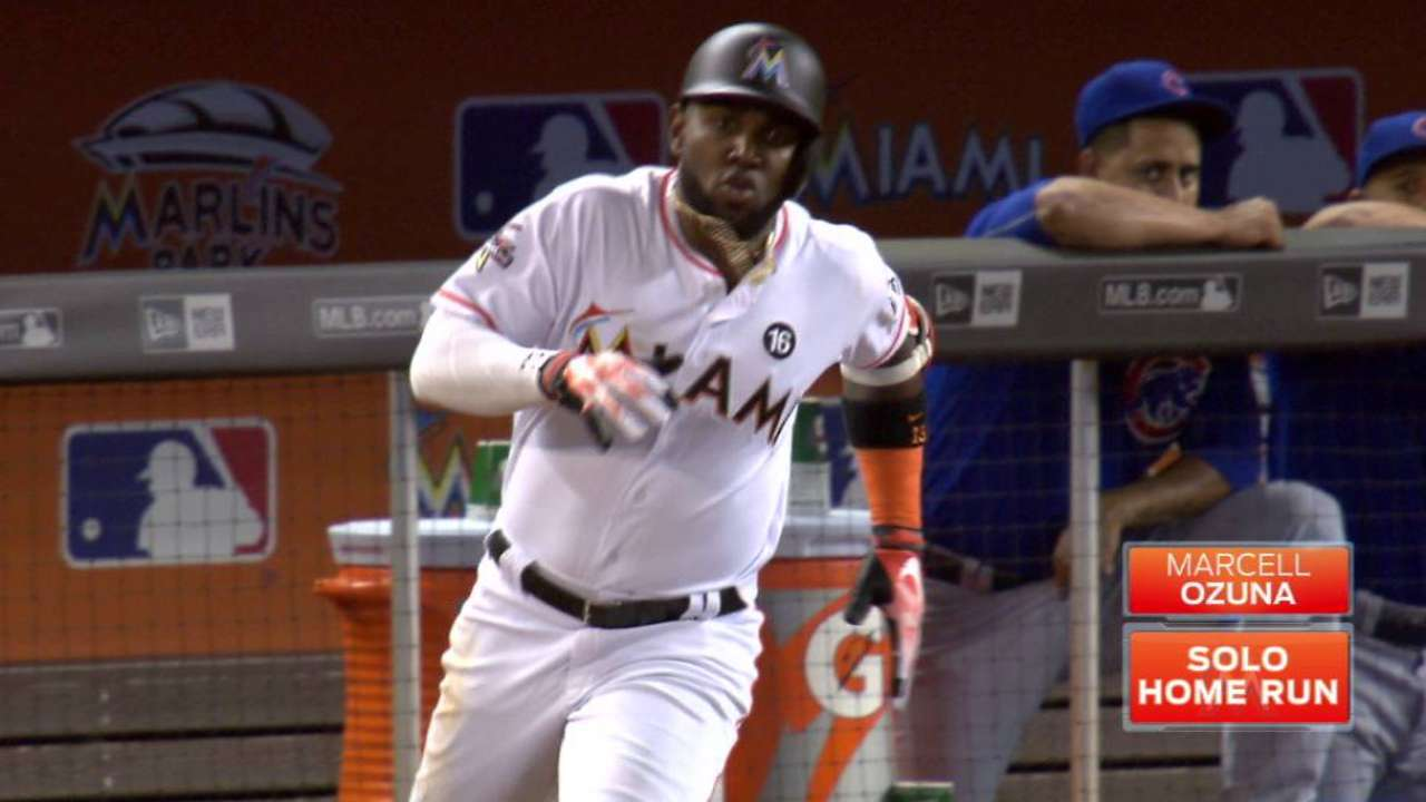 Surge puts Ozuna in line to start in NL OF
