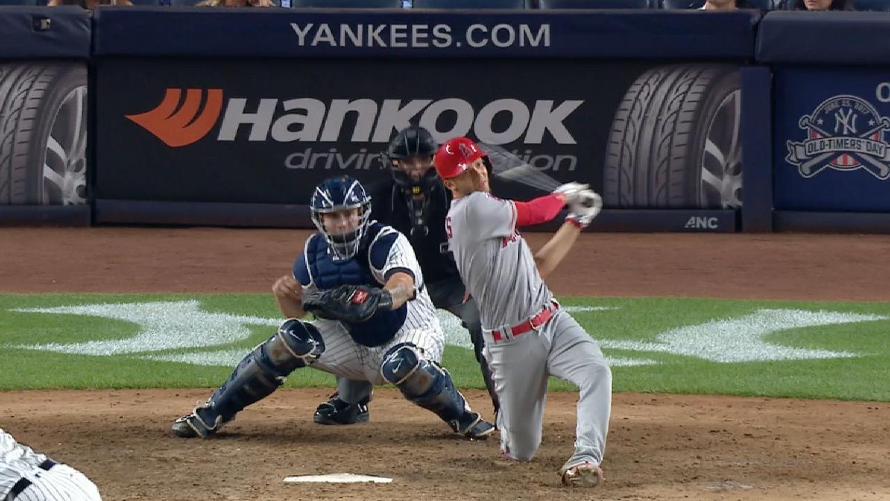 7th heaven: Big frame leads Halos over Yanks