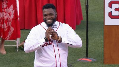 Bosox honor Ortiz, then clobber Angels
