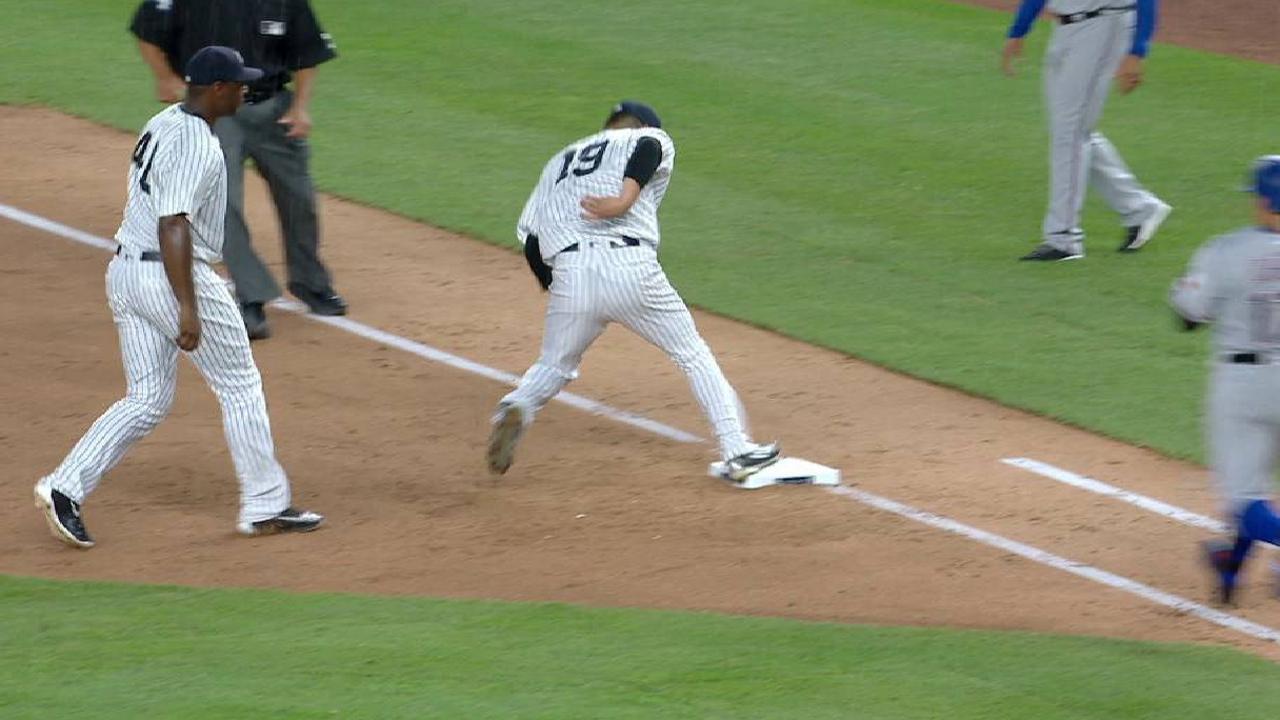 Tanaka's athletic play