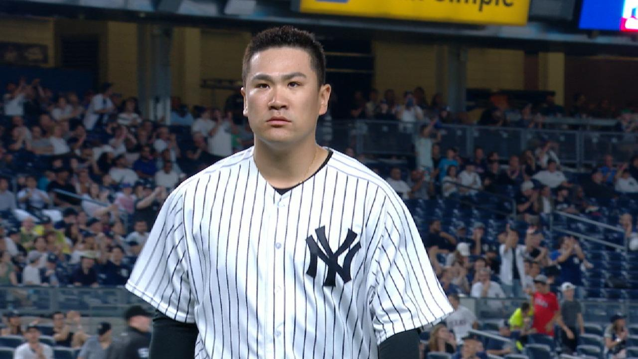 Tanaka's scoreless outing