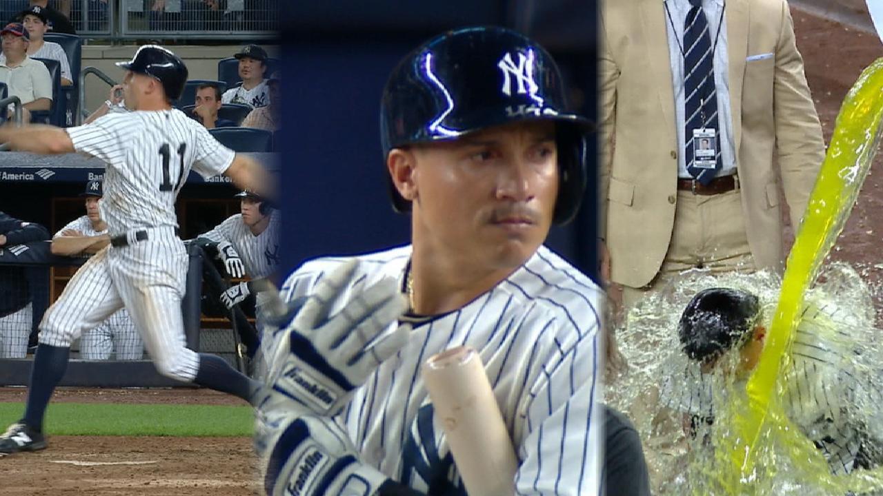 Yu-Tanaka zeroes, NY heroes, sharin' Judge