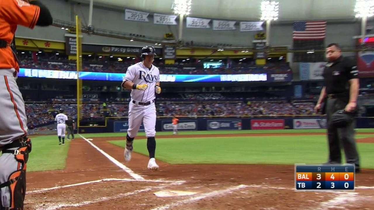 Dickerson's two-run home run