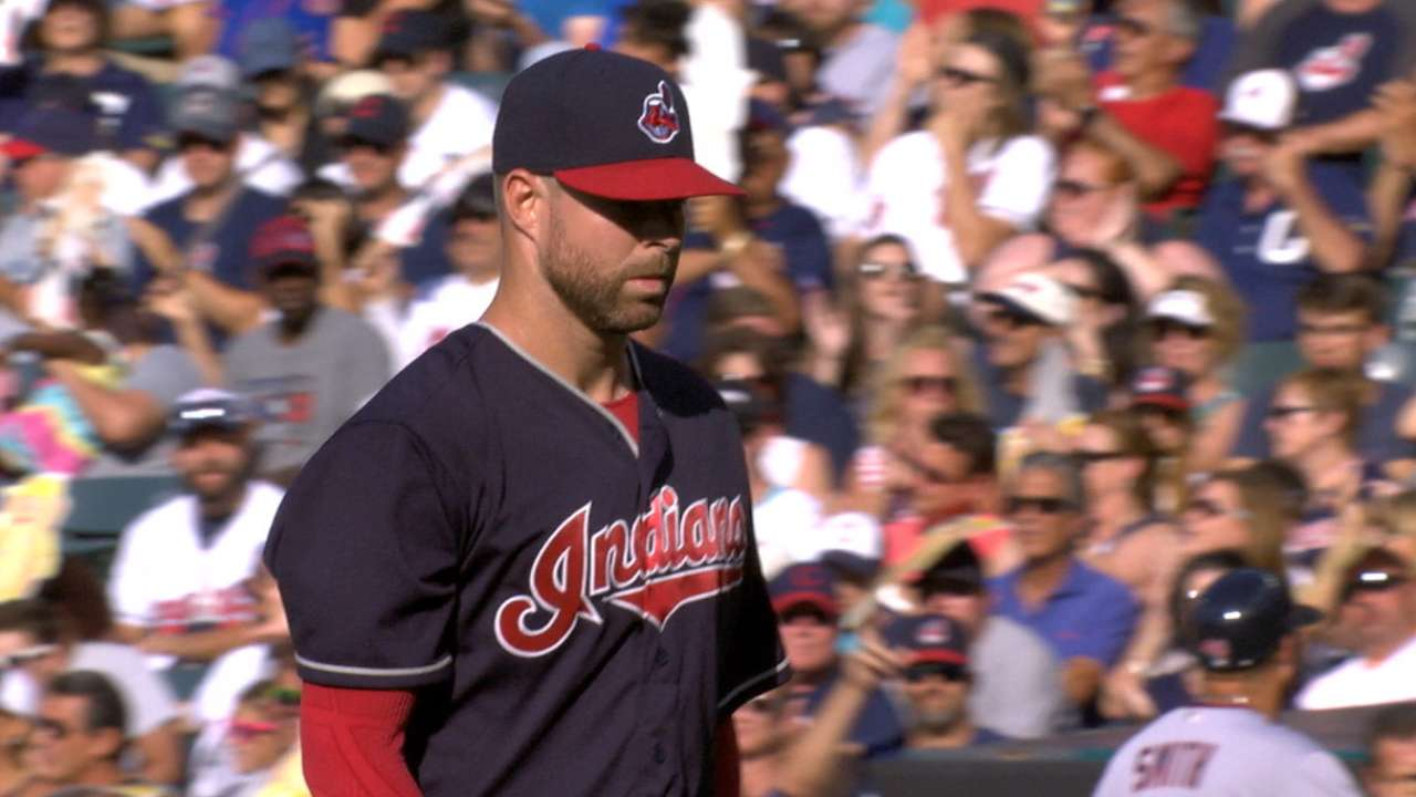 Dominant Kluber is AL Player of Week