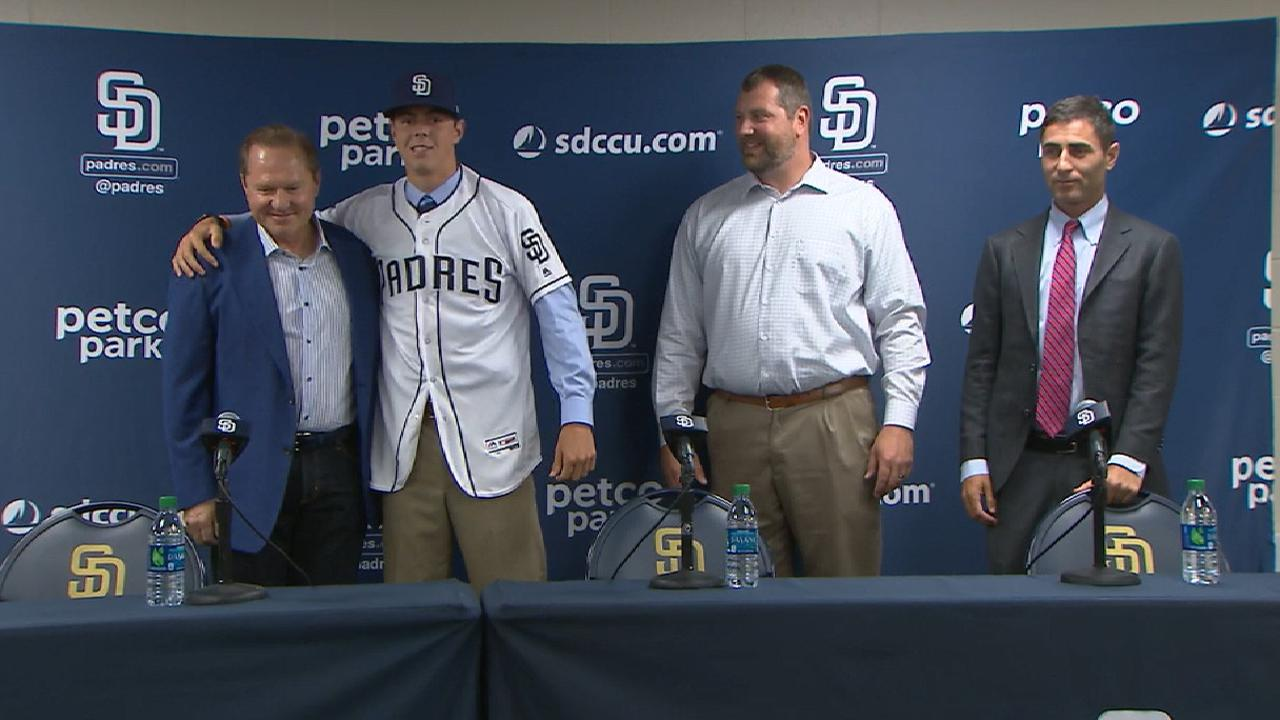 Padres able to sign their first 18 Draft picks