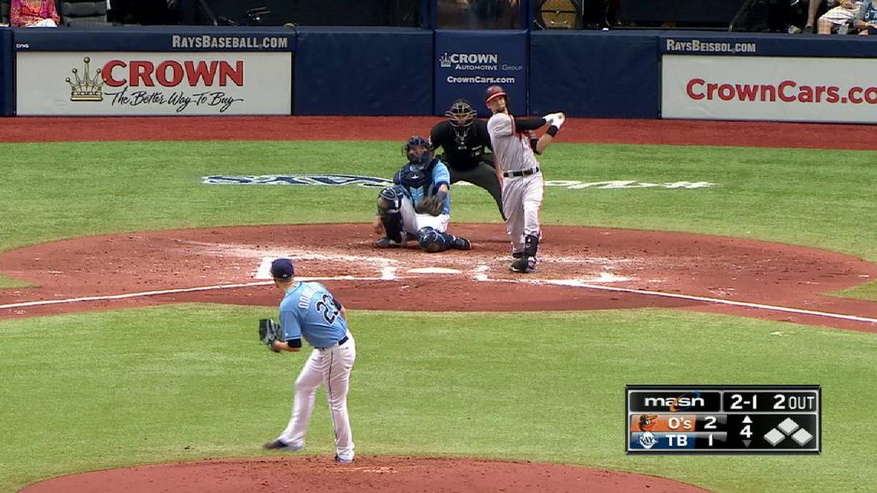 Orioles rally past Rays with 3 in 9th
