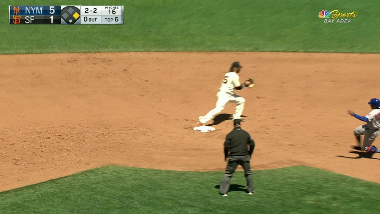 Kontos induces double play