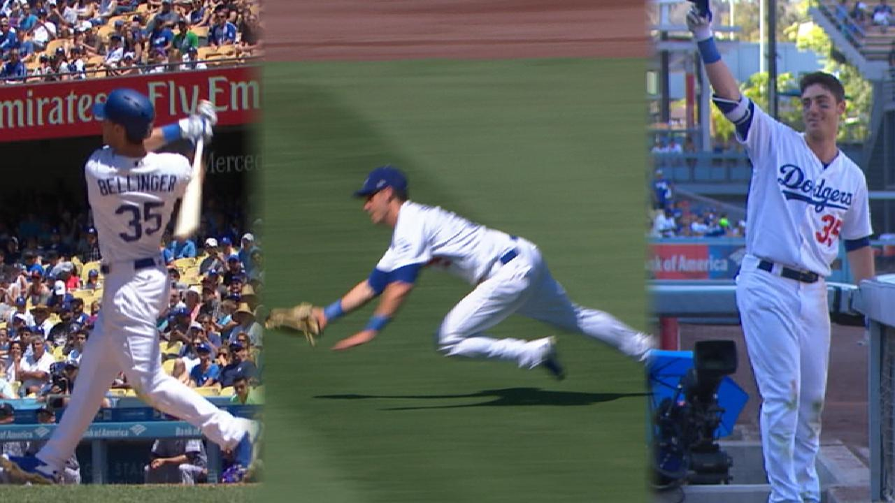 Must C: Bellinger does it all