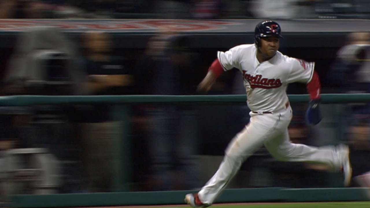 Indians stun Rangers with 13 unanswered runs