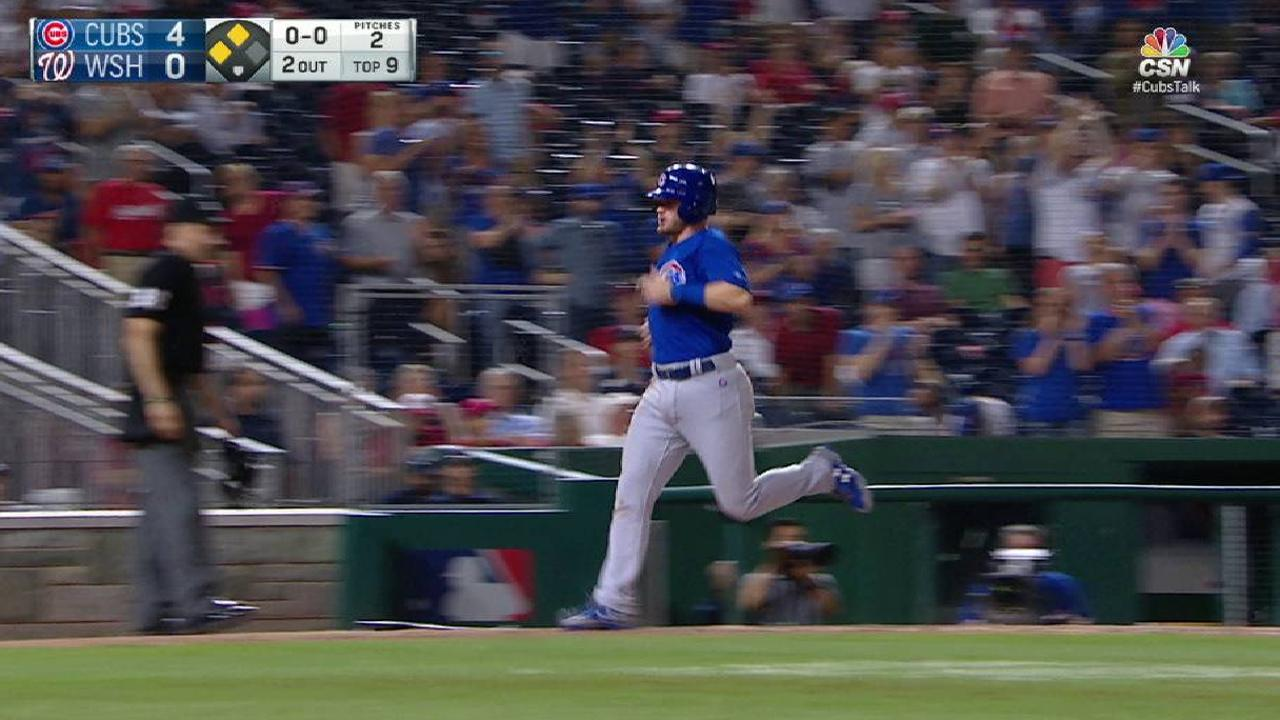 Baez's RBI double