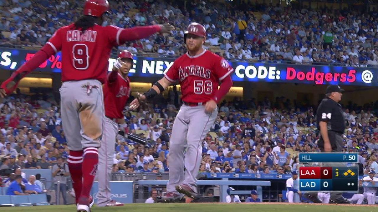 Escobar y Angelinos terminan con racha de Dodgers