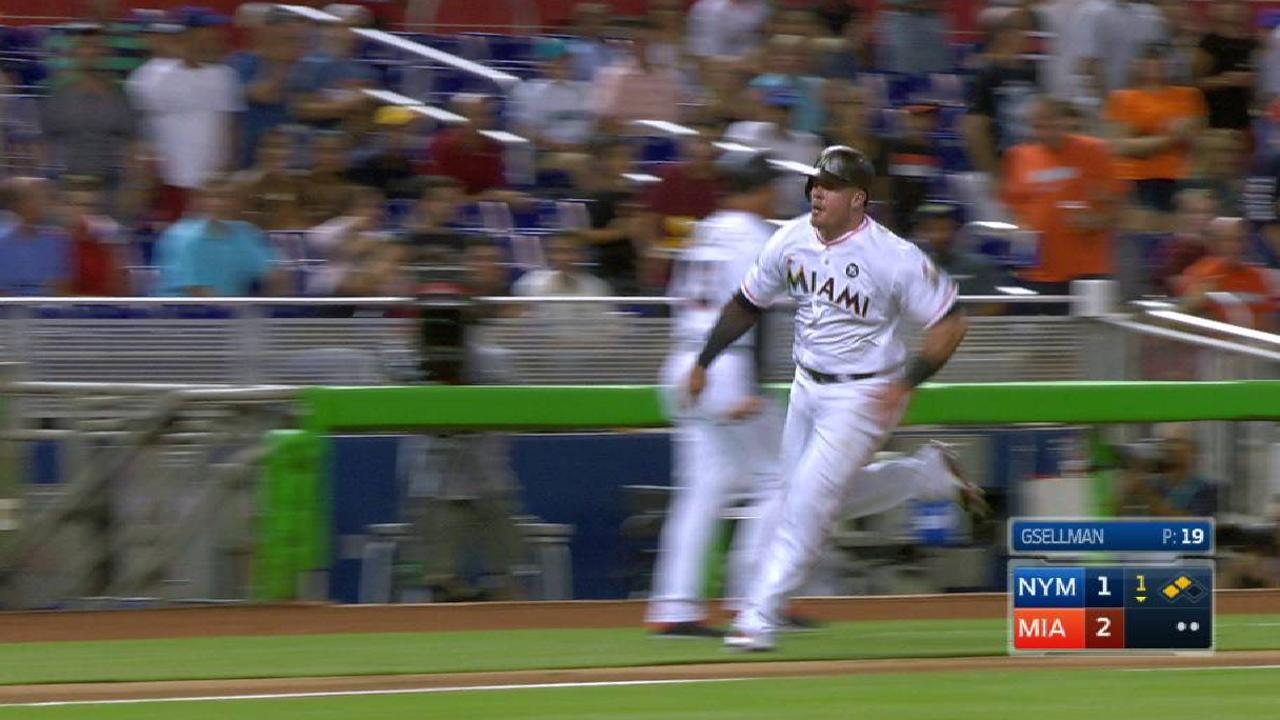 Prado's RBI double