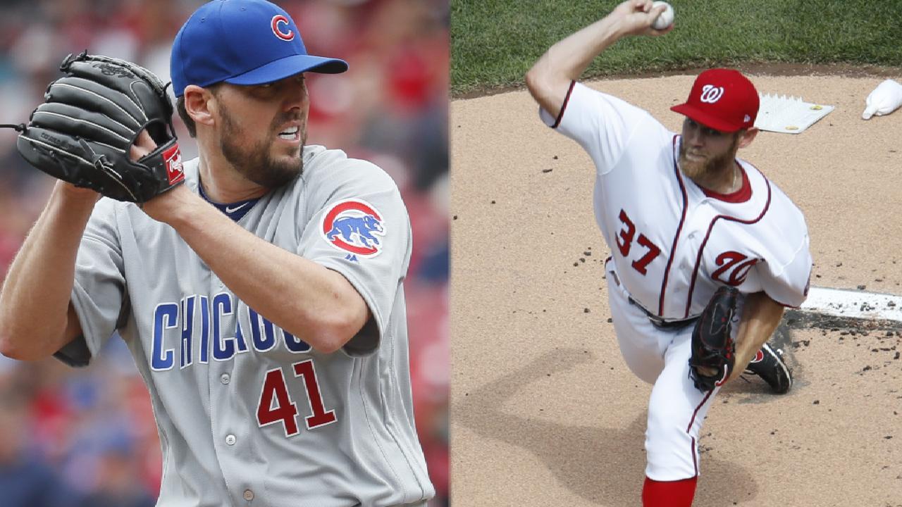 Nationals, Strasburg seek series edge vs. Cubs