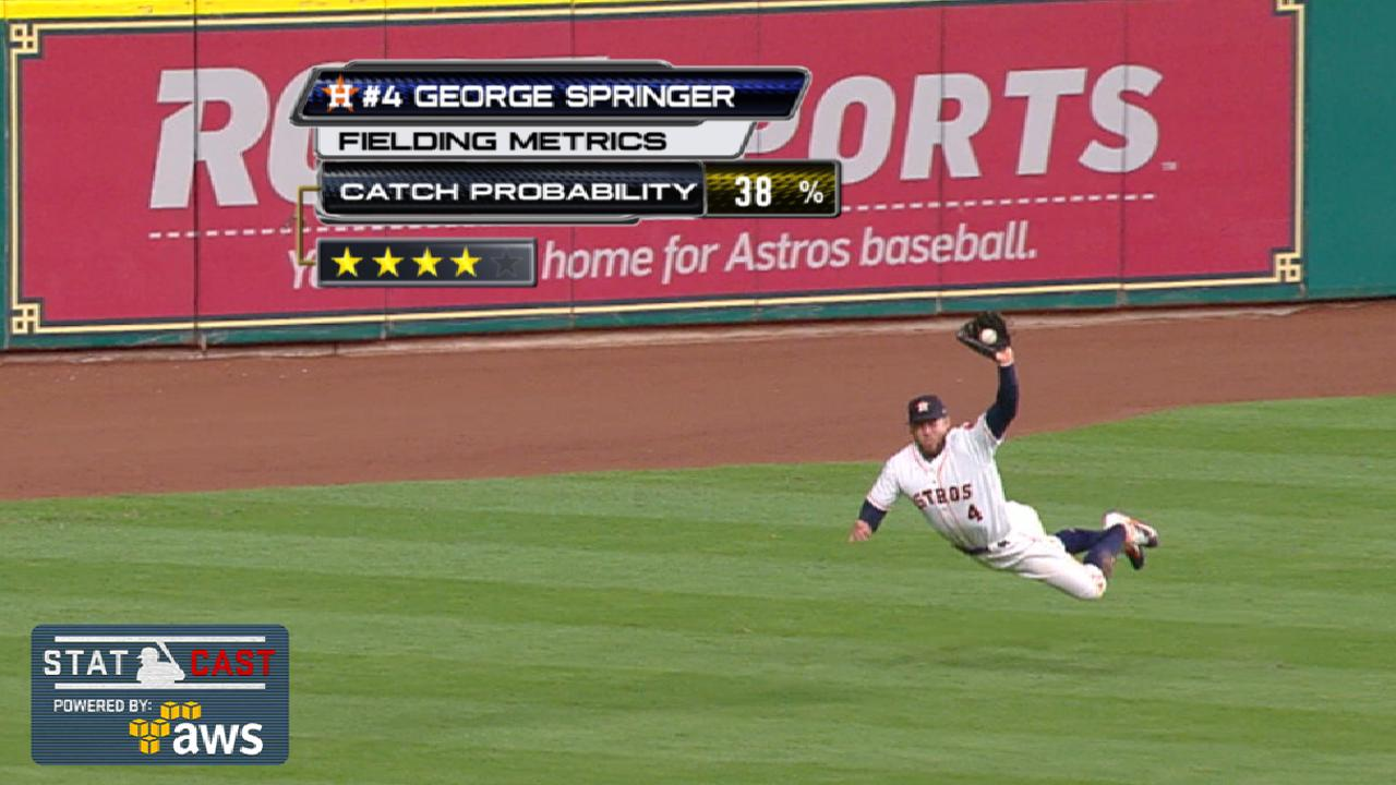 Springer dazzles with sick four-star catch