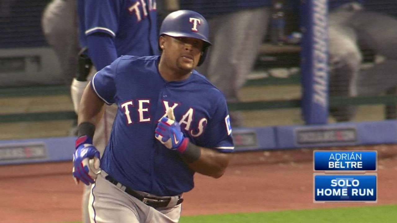 Go, Adrian! Beltre blast in 9th topples Tribe