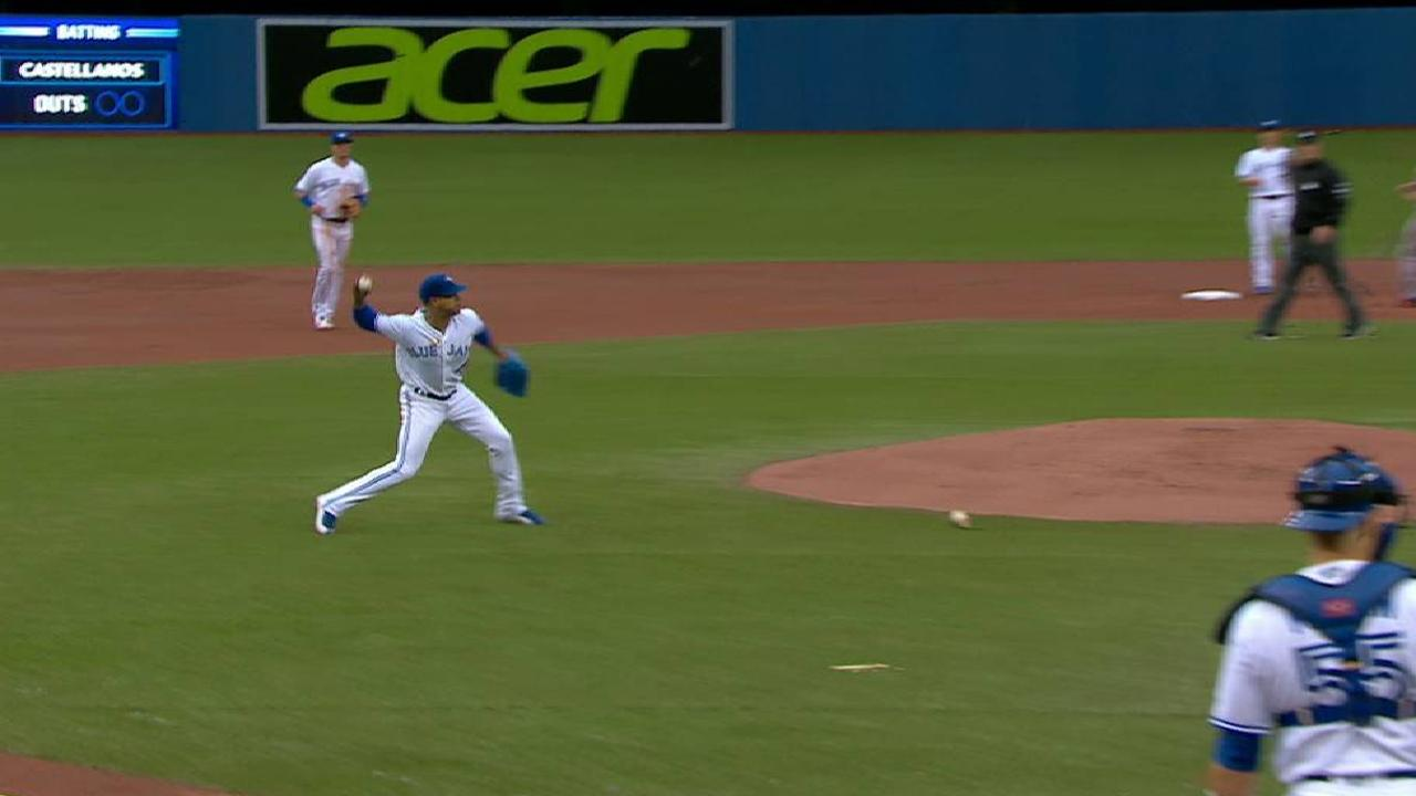 Stroman avoids shattered bat