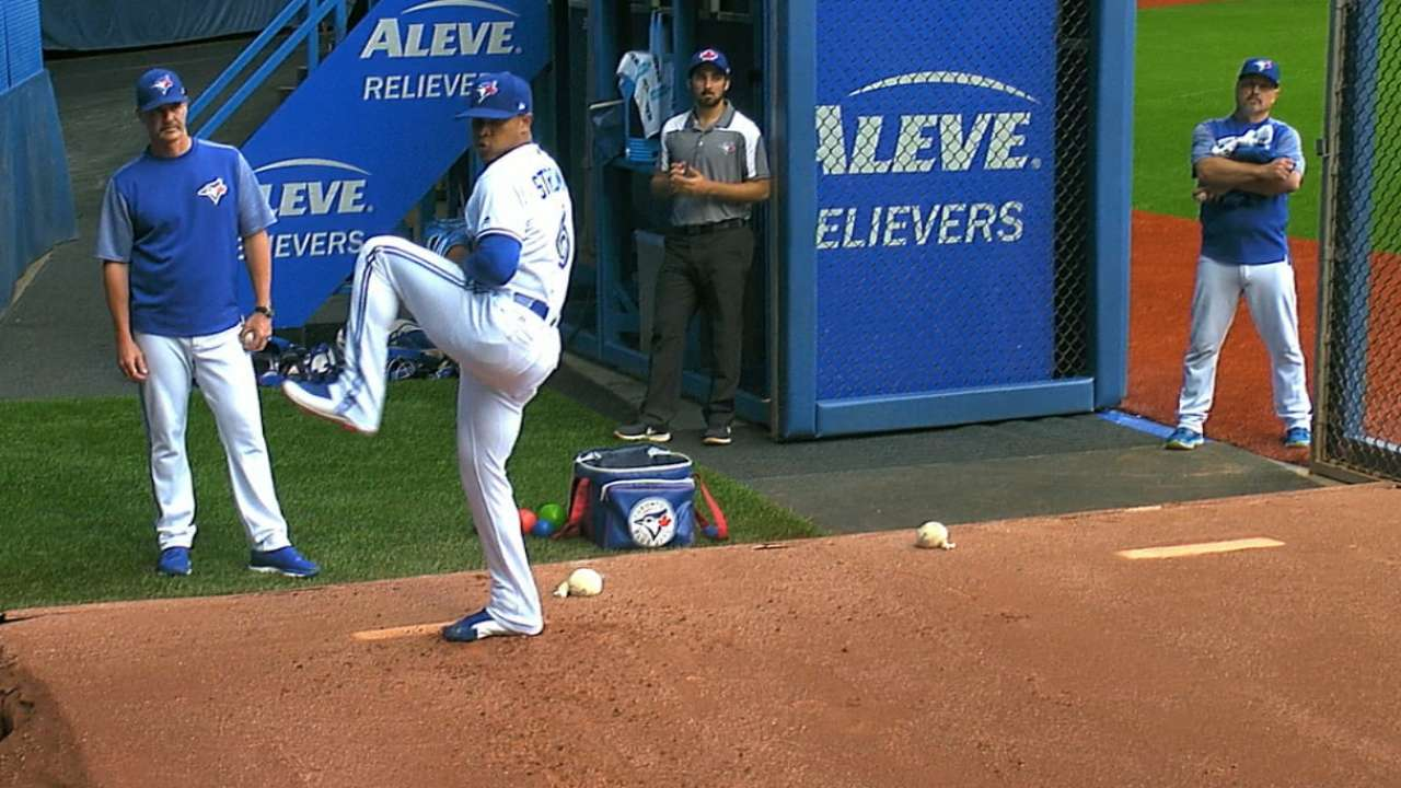 Stroman lights-out as Blue Jays coast to win