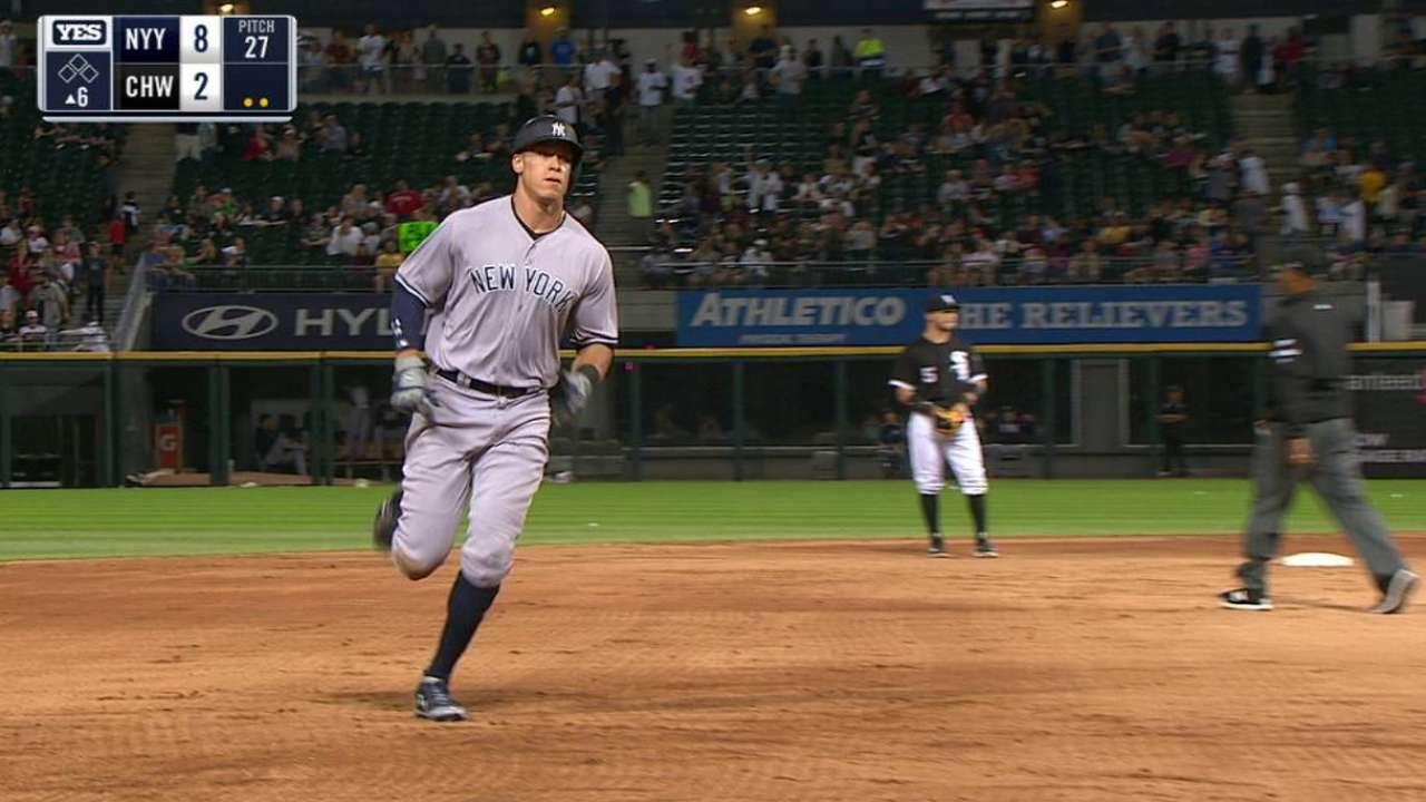 Yanks soar on Judge's rocket, dandy debut