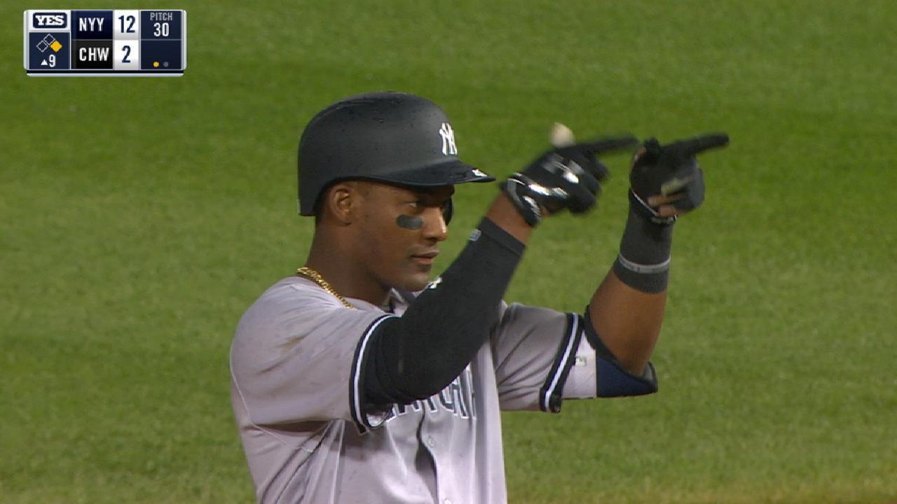 Andujar's 4-RBI debut sets Yankees record
