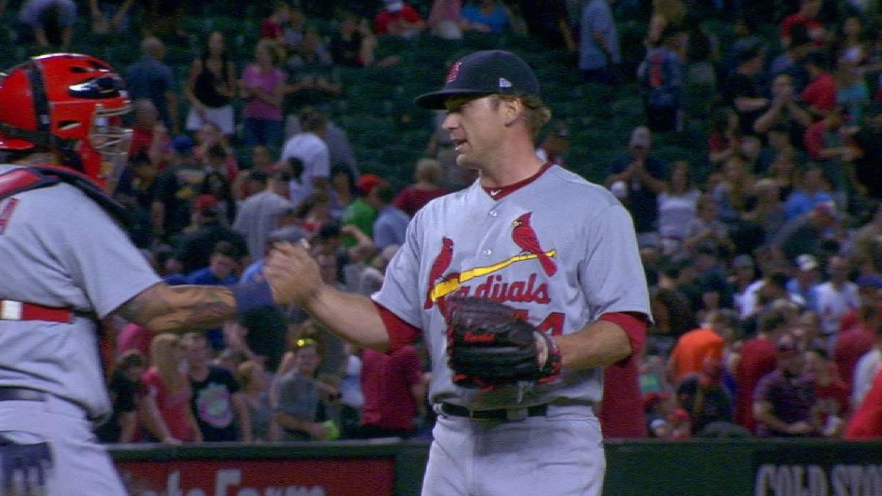 A Rosey finish for Cards in win over D-backs