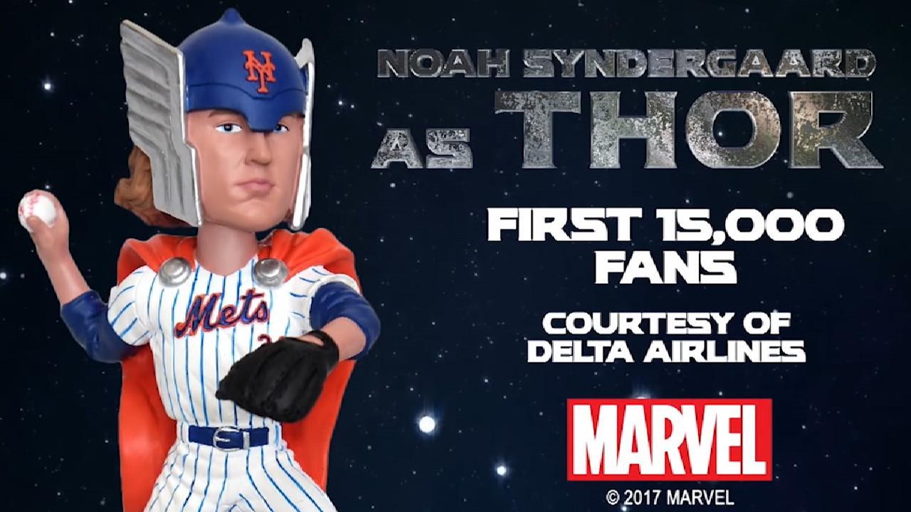 Syndergaard as Thor Bobblehead