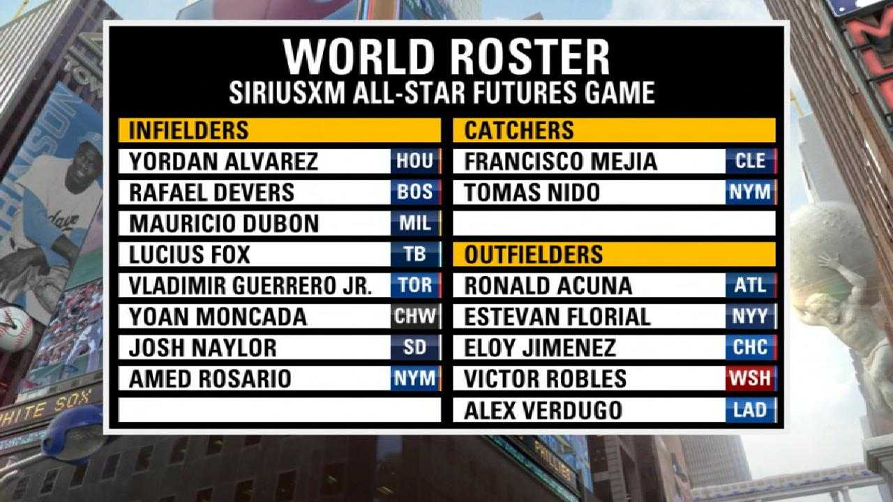 Futures Game World Team revealed
