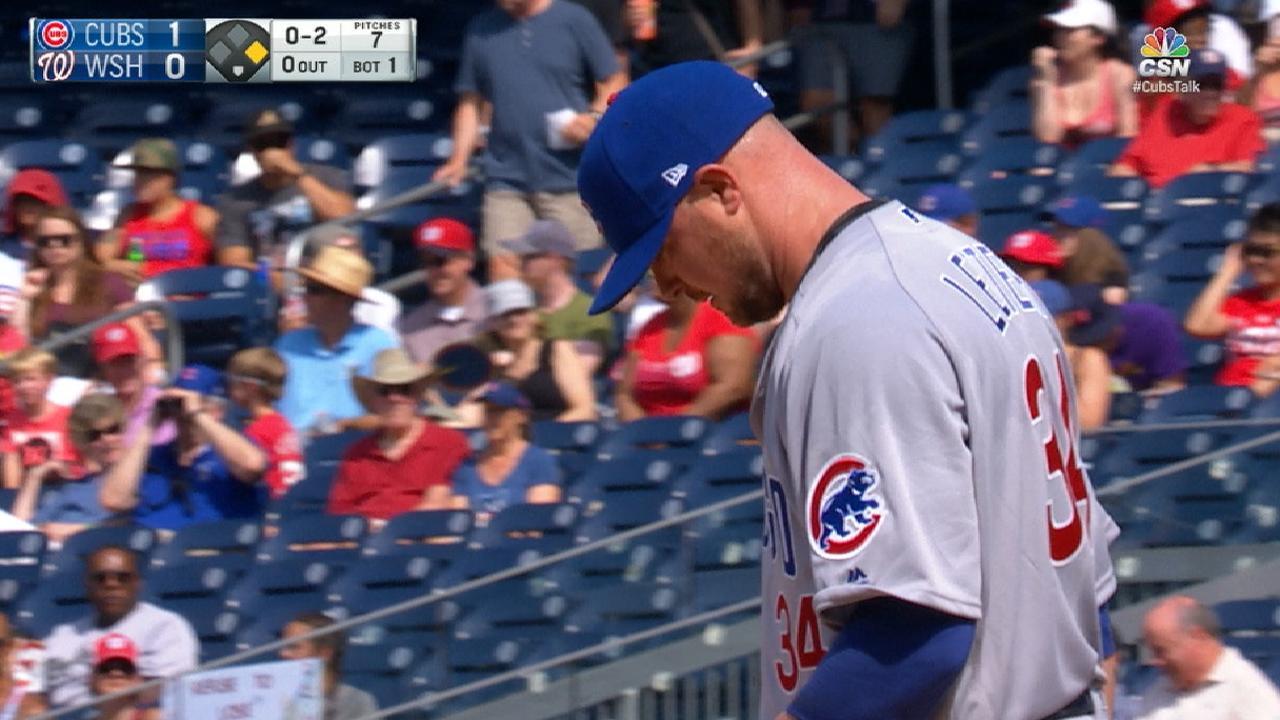 Lester hurls six strong innings