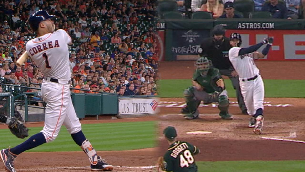 Must C: Correa's two homers