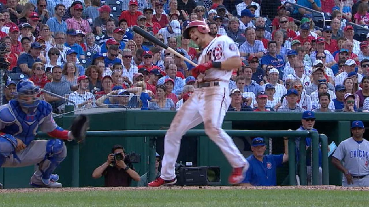 Nationals to use mix at leadoff, shortstop