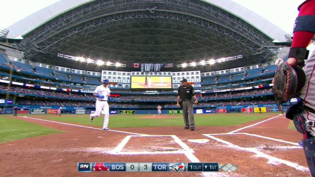 Smoak's three-run home run