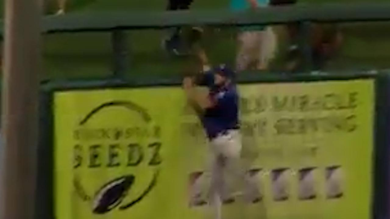 Tebow's great defensive grab