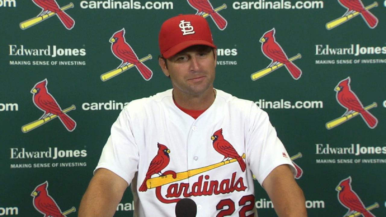 Matheny on 8-1 win over Nats