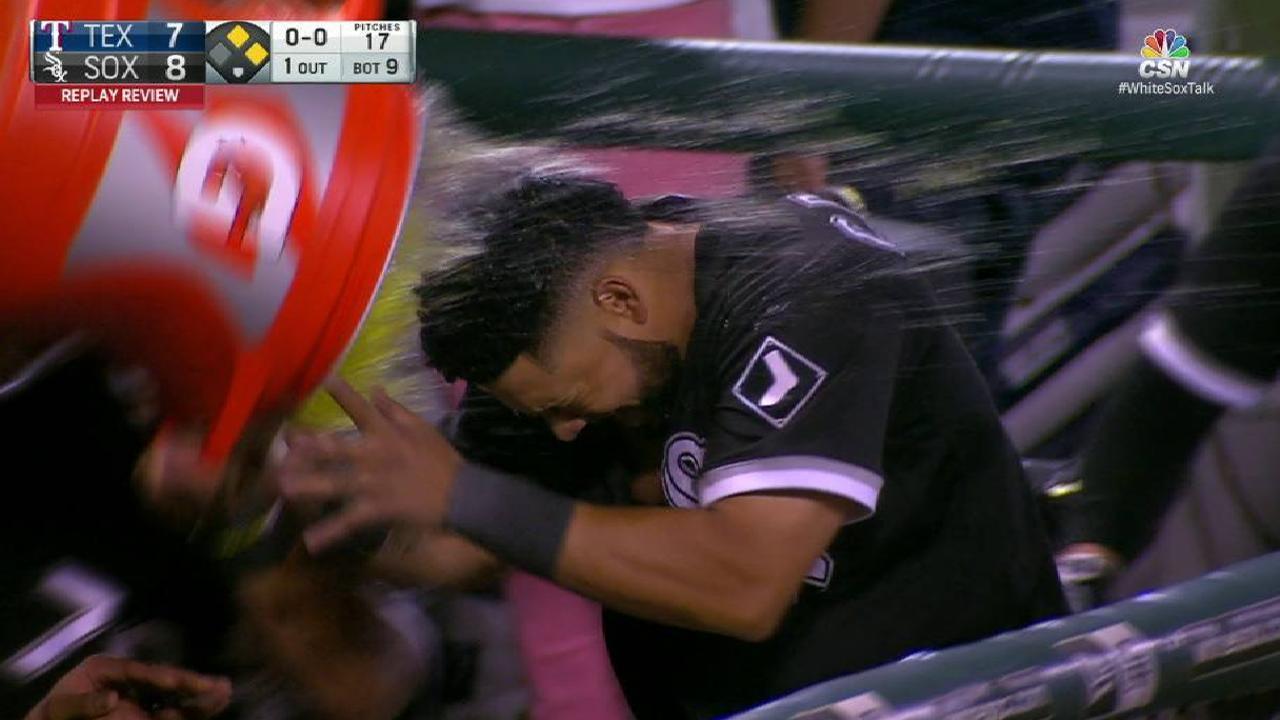 Doble de Cabrera en la 9na da triunfo a White Sox ante Rangers