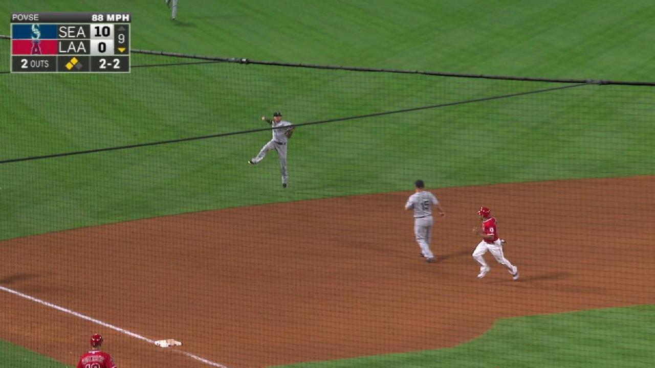Motter's terrific play at short