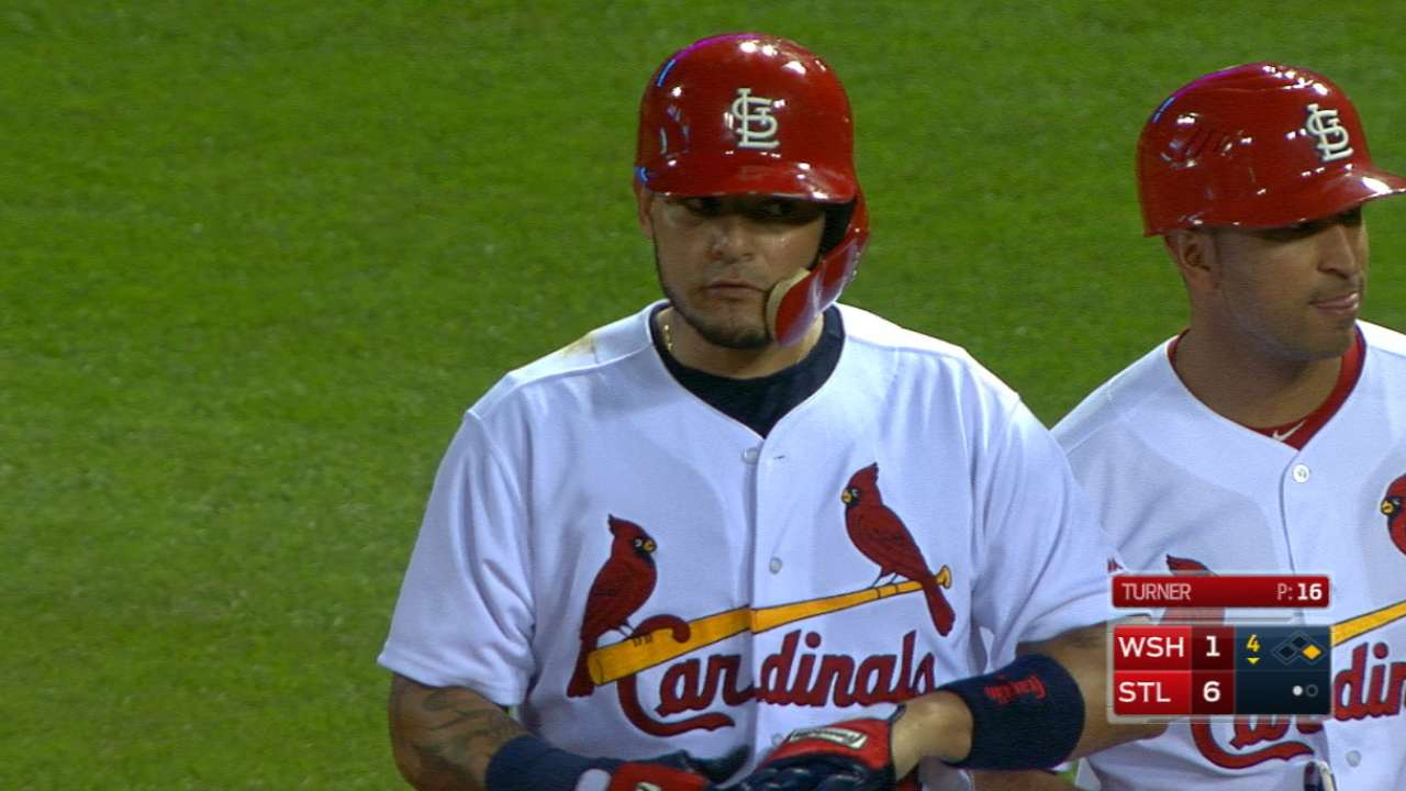 Molina's strong day at the plate