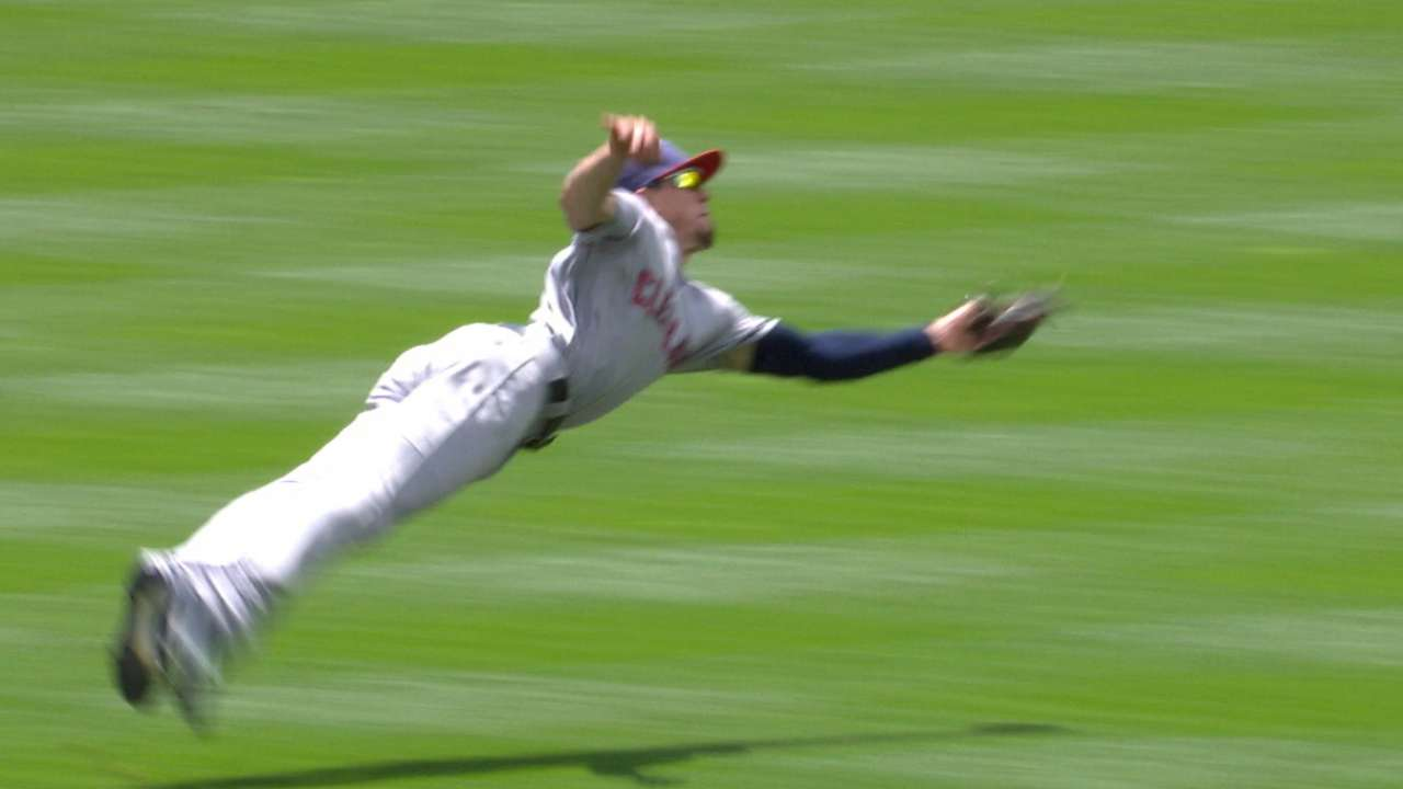 Zimmer's diving catch