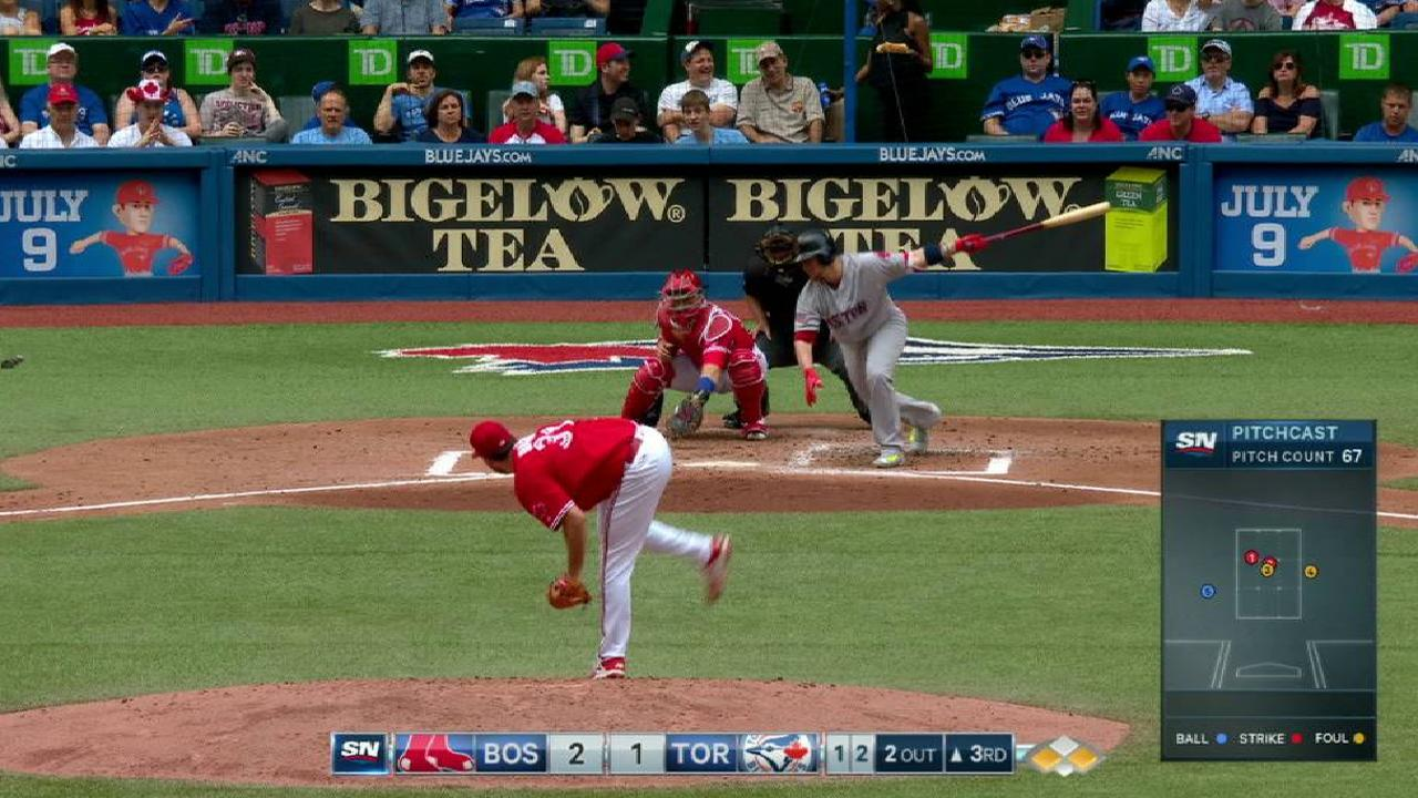 Biagini making smooth transition back to 'pen