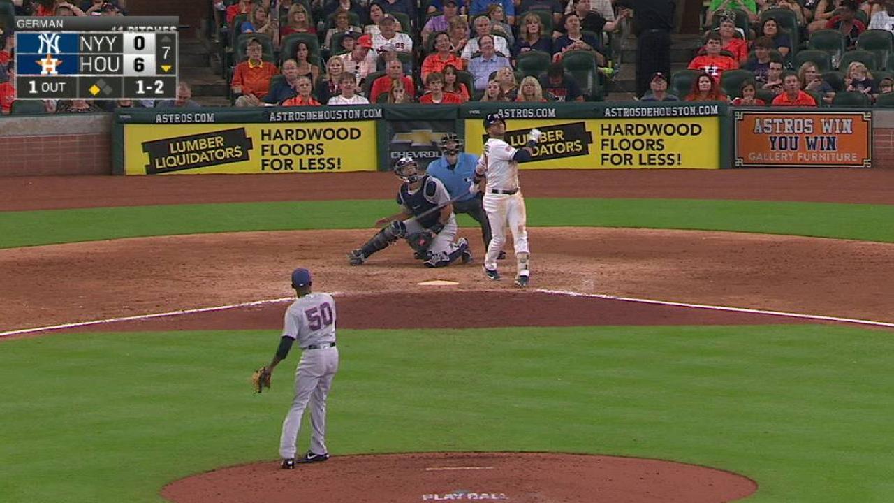 Gurriel y los Astros agravan la crisis de los Yankees