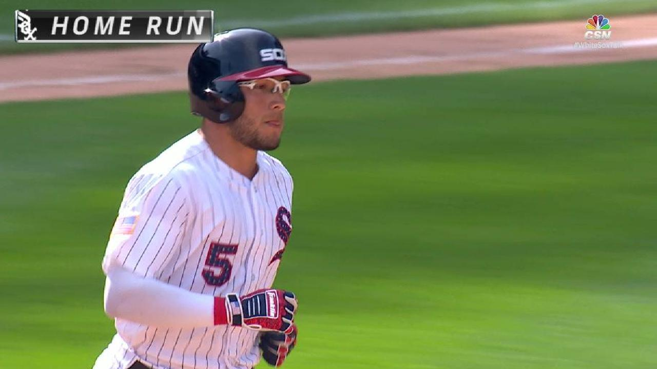 Go-ahead Yolmer! Sox rally to beat Rangers