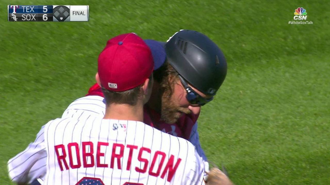 Robertson locks down the save
